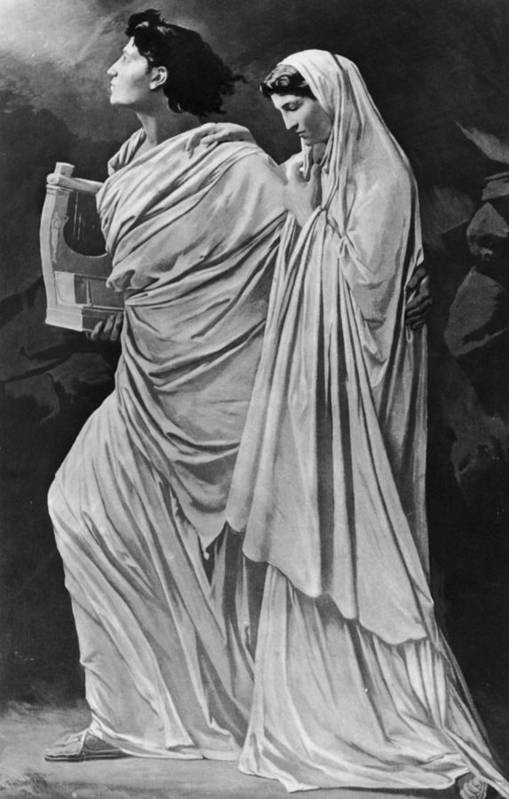 Greek Culture Art Print featuring the photograph Orpheus And Eurydice by Hulton Archive