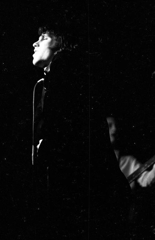 Singer Art Print featuring the photograph The Doors Perform At Steve Pauls The by Michael Ochs Archives