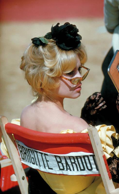 Brigitte Bardot Art Print featuring the photograph Brigitte Bardot by Loomis Dean