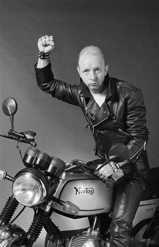 Heavy Metal Art Print featuring the photograph Rob Halford by Fin Costello