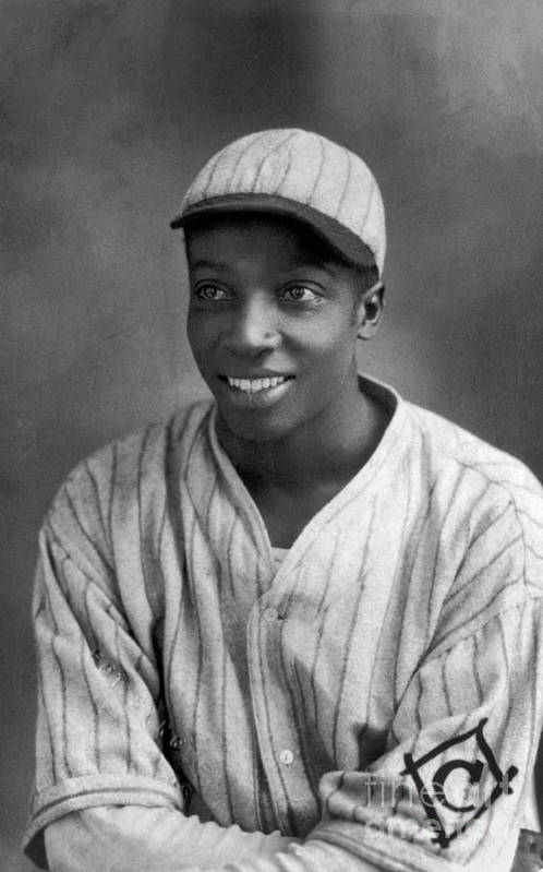 Cool Papa Bell Art Print featuring the photograph Cool Papa Bell by National Baseball Hall Of Fame Library