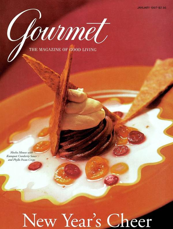 Food Art Print featuring the photograph A Gourmet Cover Of Moch Mousse by Romulo Yanes