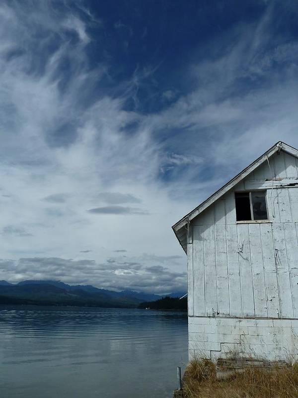 Hood Canal Art Print featuring the photograph Abandoned By The Water by Patricia Strand