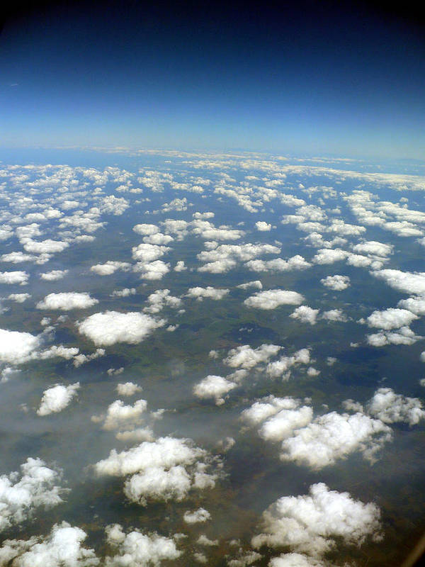 Sky Art Print featuring the photograph Above The Clouds II by Nicki Bennett