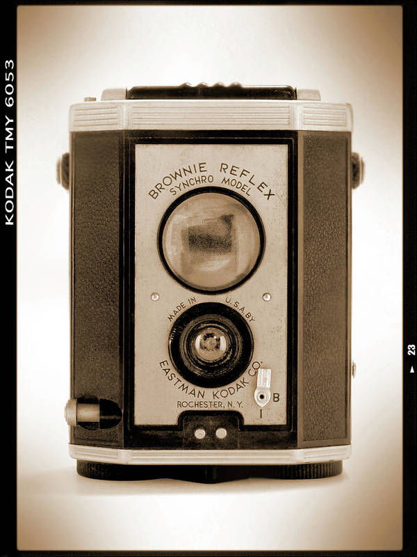 Classic Camera Print featuring the photograph Brownie Reflex by Mike McGlothlen