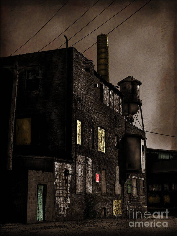 Abandoned Art Print featuring the photograph Condemned by Colleen Kammerer