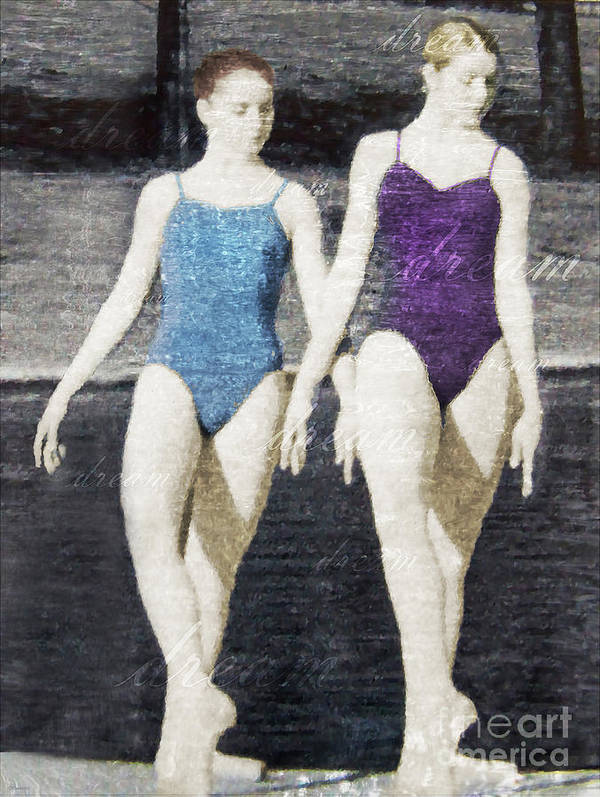 Dance Art Print featuring the photograph Dream Of Dance by Deborah Smith
