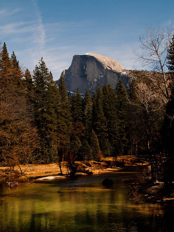 Yosemite Print featuring the photograph Half Dome Spring by Bill Gallagher