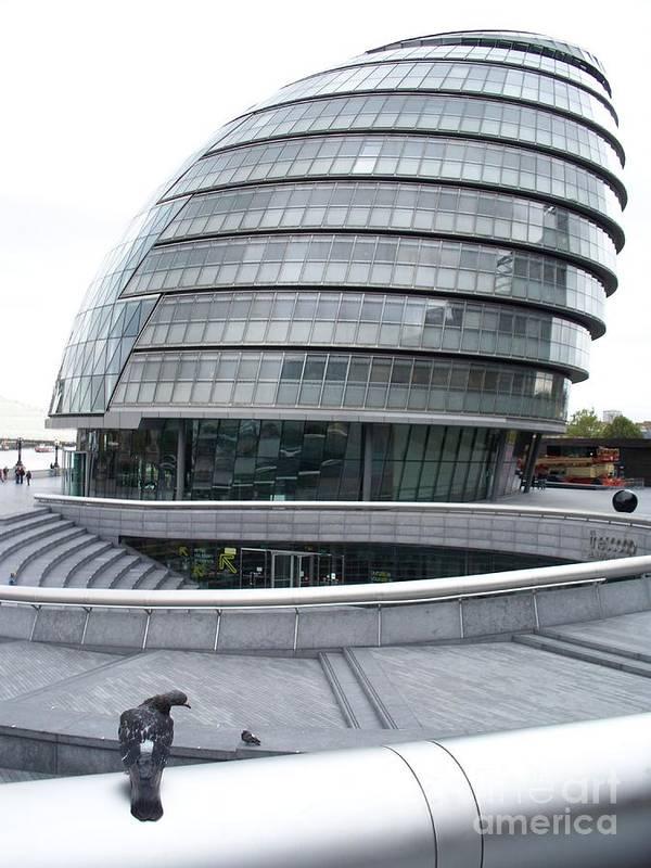 London Art Print featuring the photograph London Building by Jason Galles