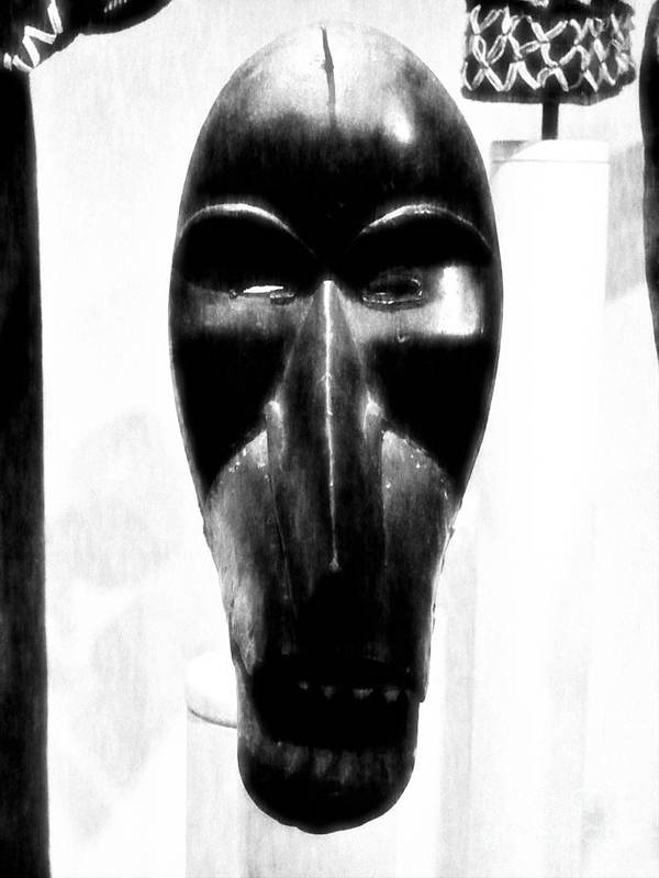 Newel Hunter Art Print featuring the photograph Mask by Newel Hunter