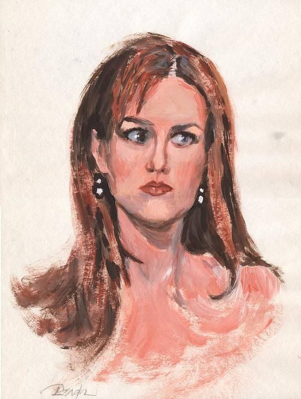 Acrylic Art Print featuring the painting Mona Lisa De Prisa by Horacio Prada