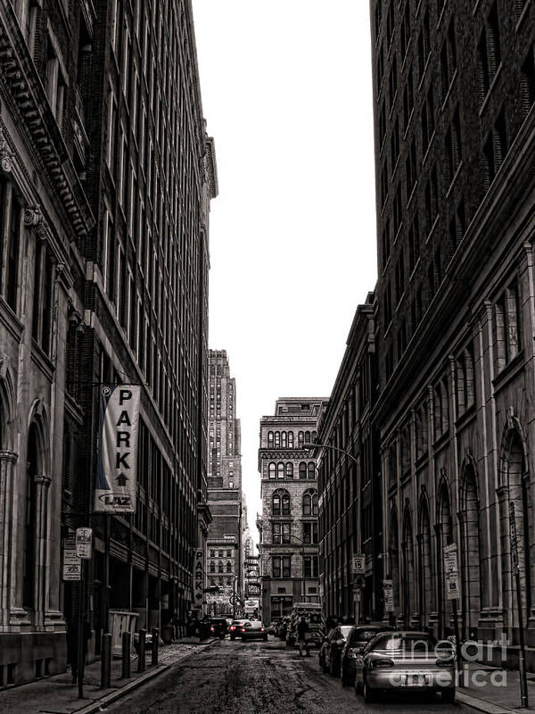 Philadelphia Art Print featuring the photograph Philly Street by Olivier Le Queinec