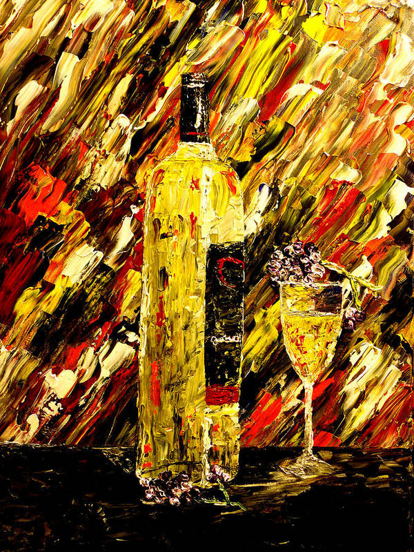 Popular Art Print featuring the painting Sensual Nights by Mark Moore
