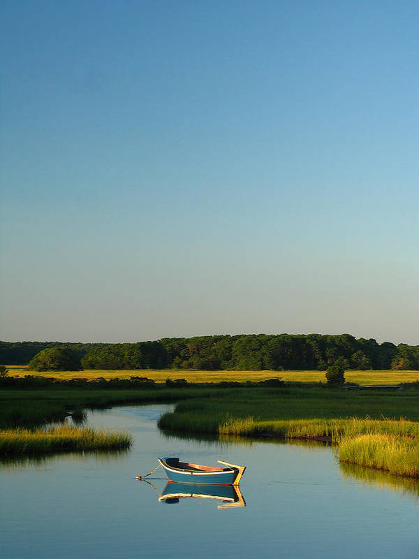 Cape Cod Art Print featuring the photograph Serene Cape Cod by Juergen Roth