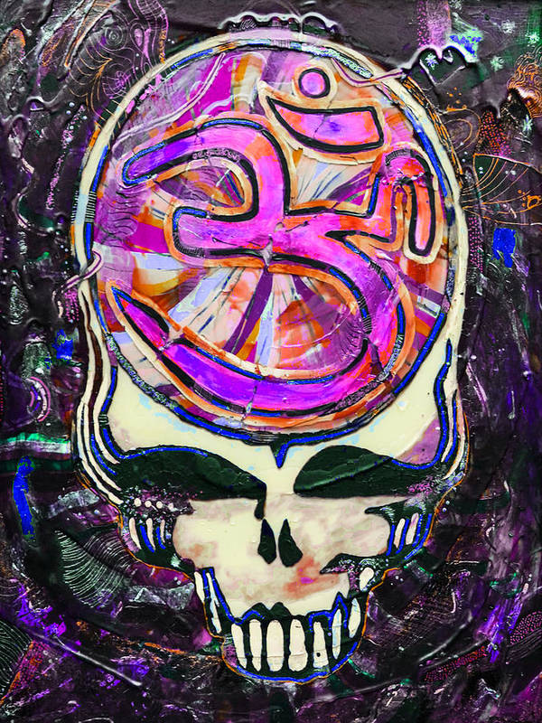 The Grateful Dead Art Print featuring the painting Steal Your Search For The Sound Two by Kevin J Cooper Artwork