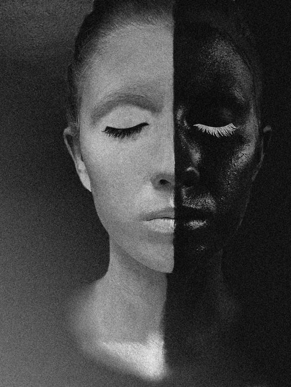 Portrait Art Print featuring the photograph The Balance by Ashley Rose