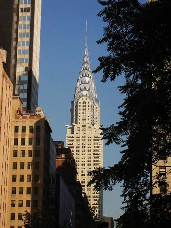 Chrysler Building Art Print featuring the photograph The Chrysler Building by Art by Dance