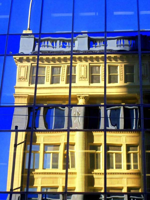 Vancouver Art Print featuring the photograph Vancouver Reflections 2 by Randall Weidner