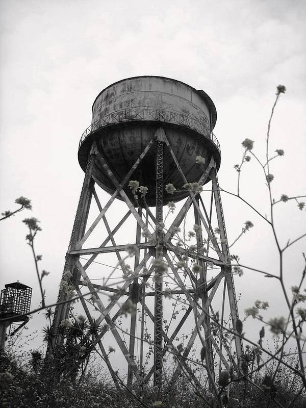 Watertower Art Print featuring the photograph Water Tower by Michael Grubb