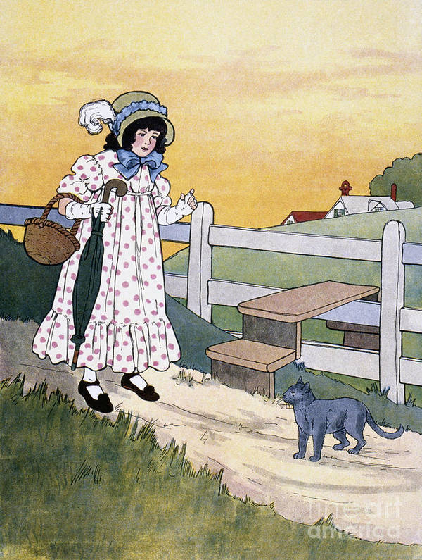 1916 Art Print featuring the photograph Wright: Pussy Cat by Granger