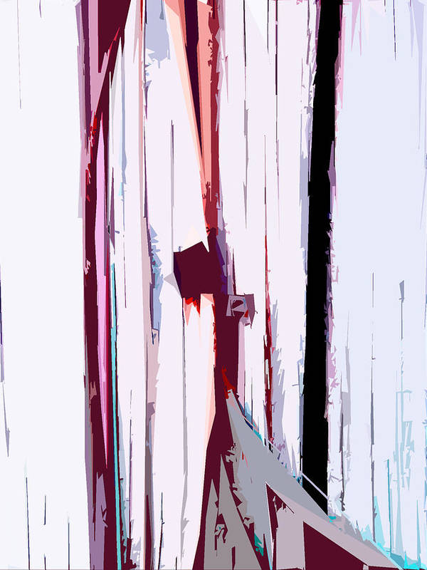 White Art Print featuring the digital art Untitled by Russell Clenney