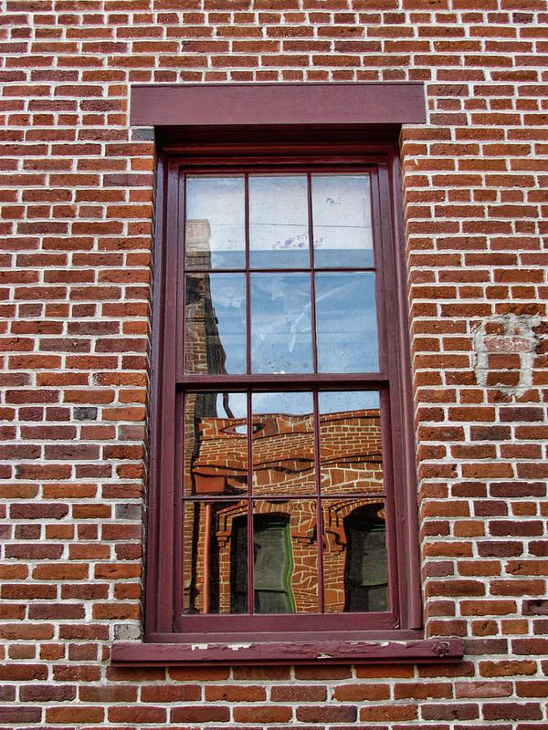 Bricks Art Print featuring the photograph Bricks In Bricks by Helaine Cummins