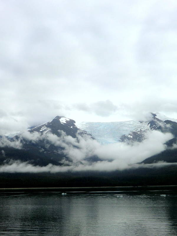 Mountains Art Print featuring the photograph Glacier Mountain by Mindy Newman