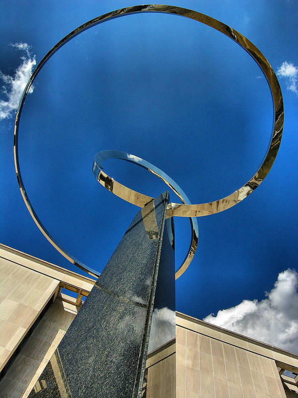 Infinity Art Print featuring the photograph Infinity Take One by Steven Ainsworth