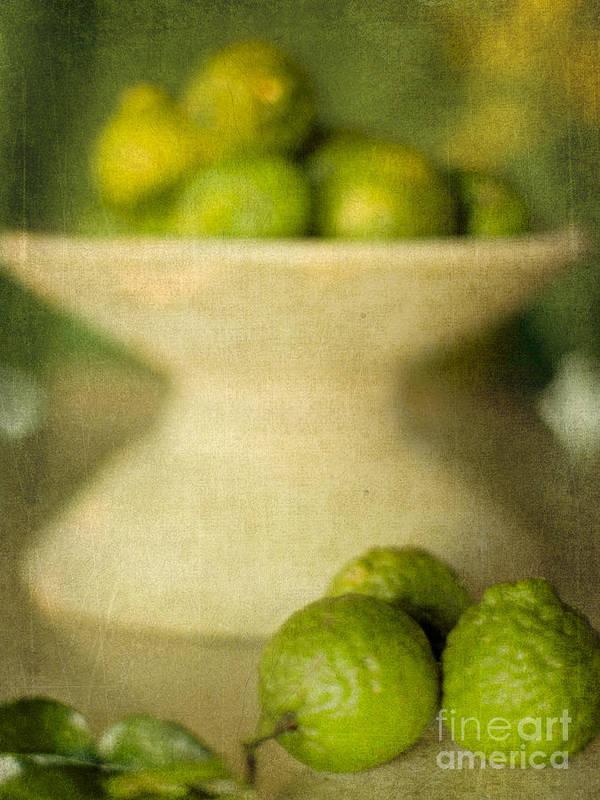 Kaffir Limes Art Print featuring the photograph Kaffir Limes by Linde Townsend