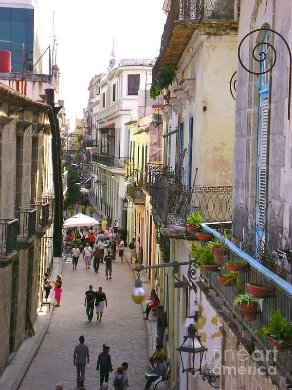 Old Town Art Print featuring the photograph Lovely Havana by Laurel Fredericks