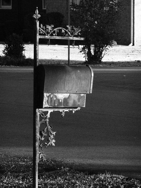 Tennessee Art Print featuring the photograph Murfreesboro Mailbox by Debbie Johansson