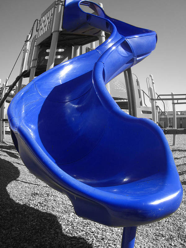 In Focus Art Print featuring the photograph Playground by Barbara Gray