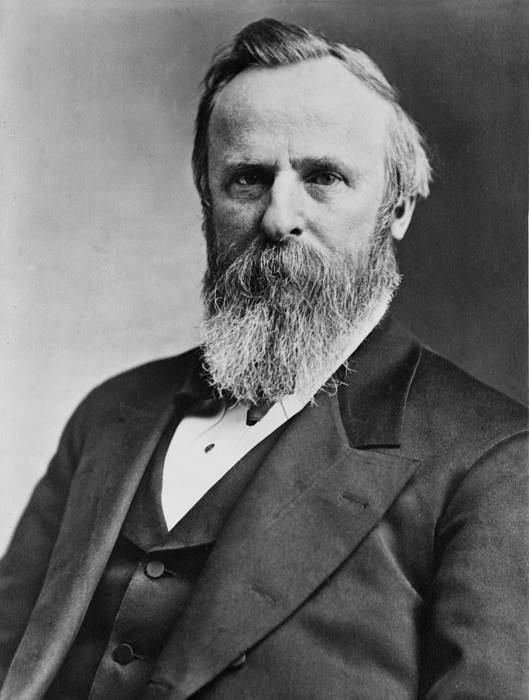 History Art Print featuring the photograph President Rutherford B. Hayes by Everett