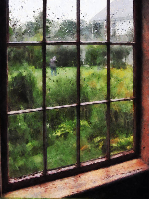 Rain Art Print featuring the photograph Rainy Day by Susan Savad