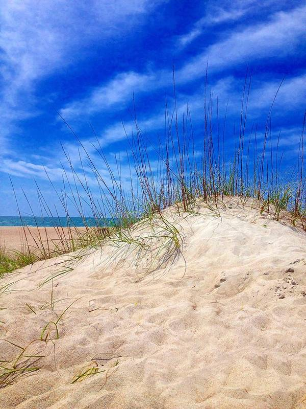 Dune Art Print featuring the photograph Sand Dune by Joan Meyland