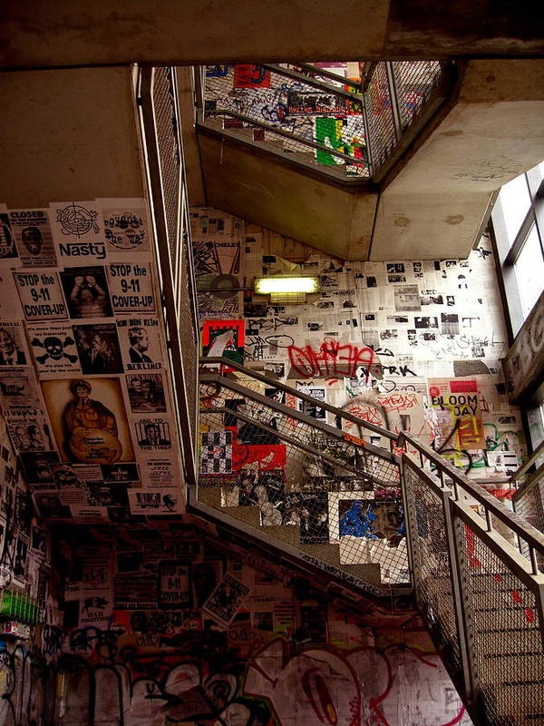 Berlin Art Print featuring the photograph Stairs Of Truth by Susi Perla