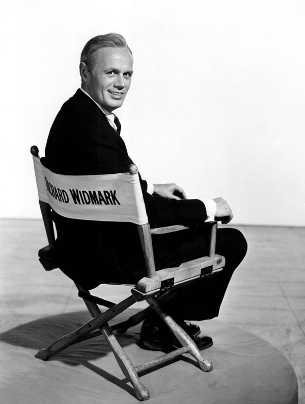 1950s Portraits Art Print featuring the photograph The Cobweb, Richard Widmark, 1955 by Everett