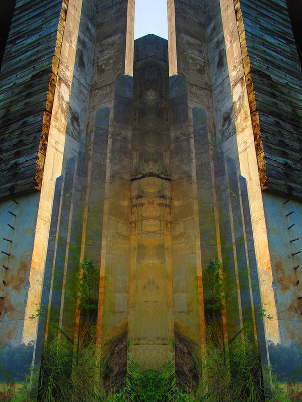 Colorblend Art Print featuring the photograph Totem by Michele Caporaso