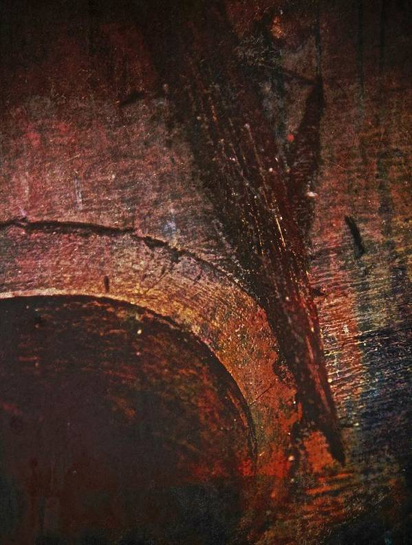 Wood Print featuring the photograph Wood Abstract by Odd Jeppesen