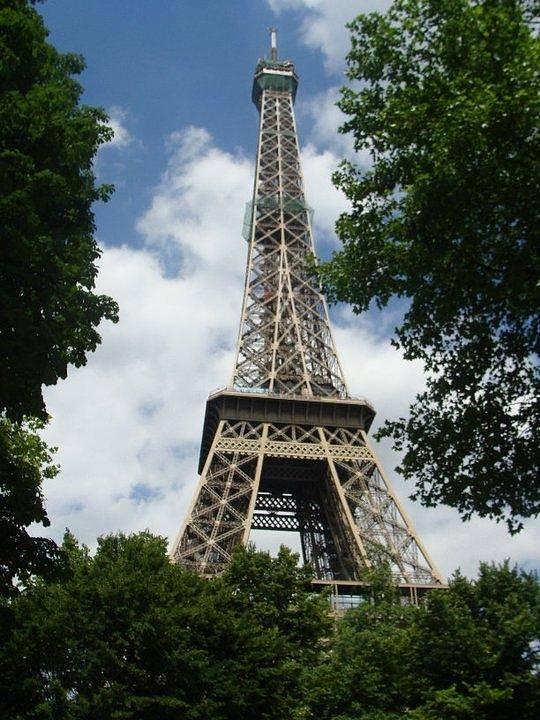 Eiffel Tower Art Print featuring the photograph Eiffel Tower by Sierra Ellis