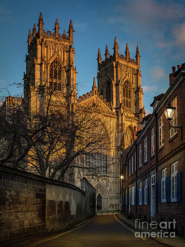 Building Art Print featuring the photograph York Minster by Mark Bulmer