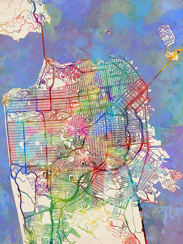 San Francisco City Street Map Art Print on san francisco fog forecast, san francisco housing projects 1950, san francisco shopping district, paris street map printable, old san juan tourist map printable, cambridge street map printable, san francisco bay area redwood, yuma street map printable, houston street map printable, san francisco water rationing, san francisco general hospital potrero, berkeley california map printable, las vegas street map printable, san francisco ca tourist attractions, san francisco neighborhoods to avoid, east lansing street map printable, san francisco public transportation system, new orleans street map printable, san francisco tourism, downtown raleigh street map printable,