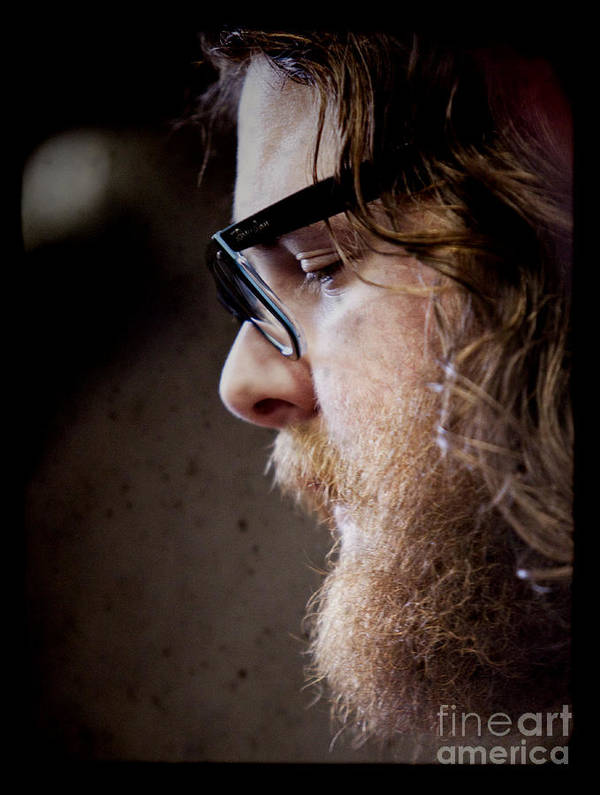 Andy Hull Print featuring the photograph Andy Hull Of Manchester Orchestra by Dustin K Ryan