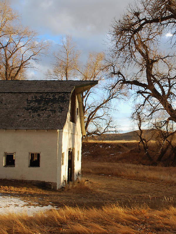 Farms Art Print featuring the photograph At The Days End by Kevin Albright