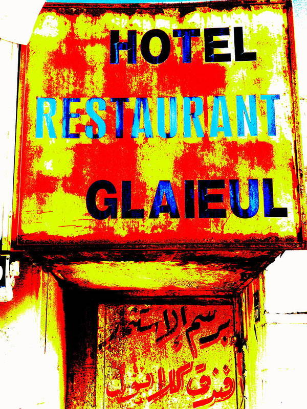 Lebanon Art Print featuring the photograph Beirut Funky Hotel by Funkpix Photo Hunter