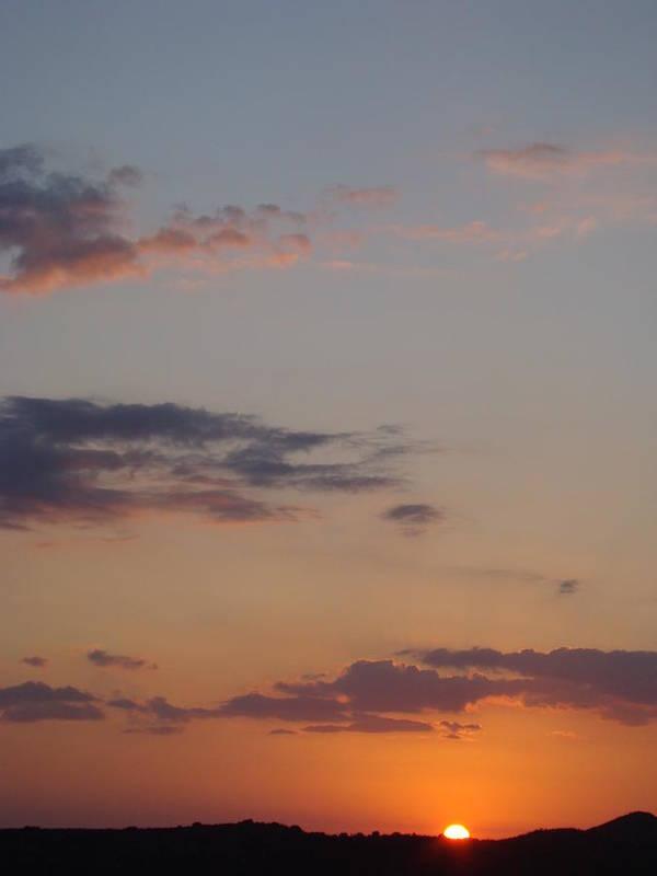 Sunset Art Print featuring the photograph Big Texas Sky Three by Ana Villaronga