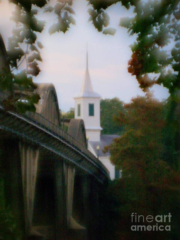 Wetumpka Art Print featuring the photograph Bridge To Heaven by Elizabeth Rhodes