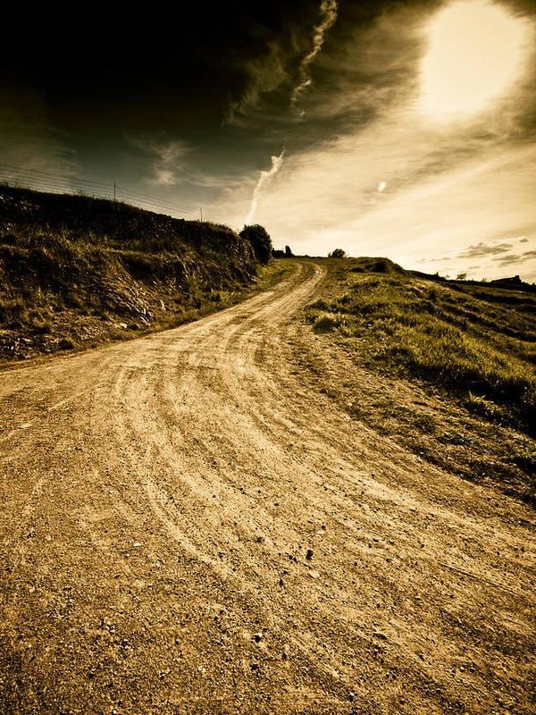 Path Art Print featuring the photograph Camino Rural by Felix M Cobos