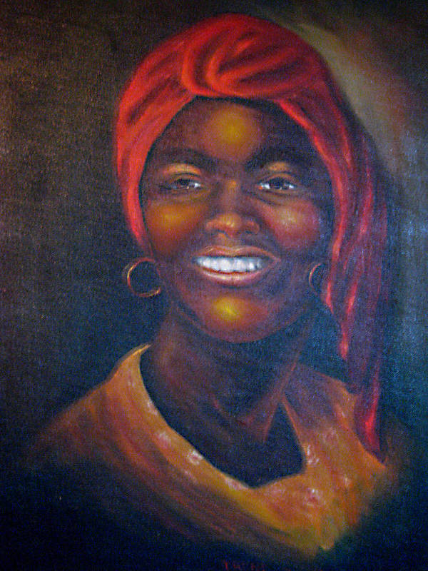 Black Women Art Print featuring the painting Cicely Tyson by Irene Schilling