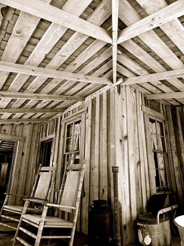 Cracker House Art Print featuring the photograph Converging Lines by Gretchen Smith